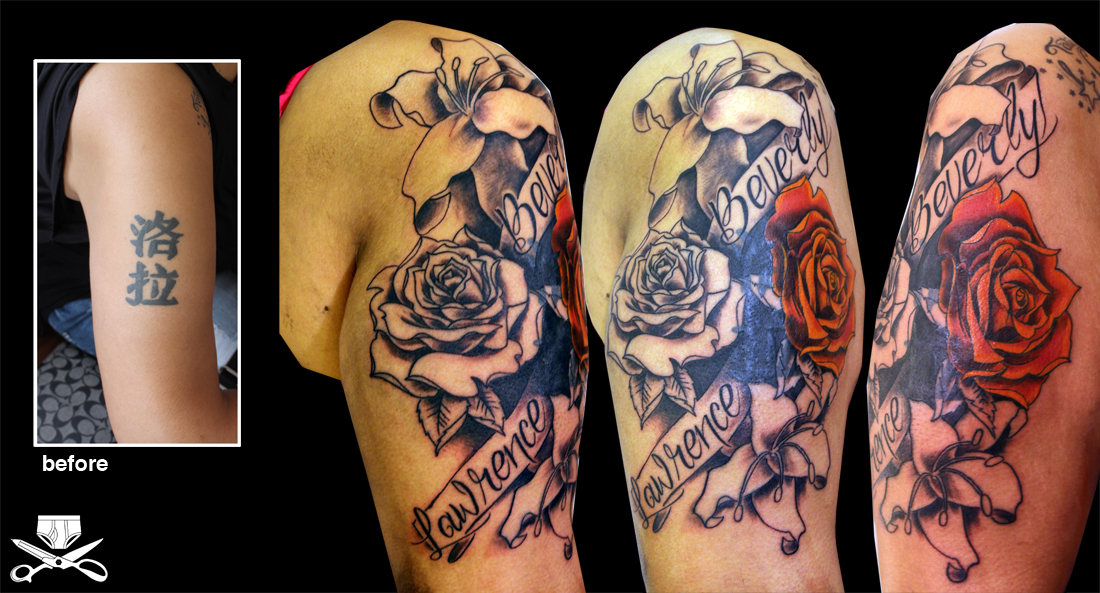 Cover Up Tattoos On Arm